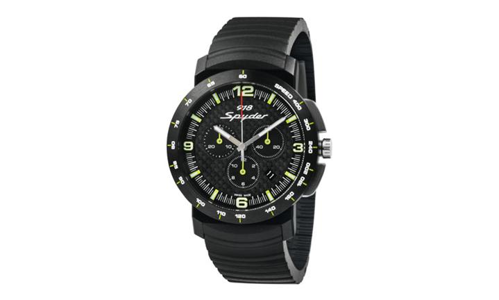 porsche design 918 spyder chronograph watch ebay. Black Bedroom Furniture Sets. Home Design Ideas