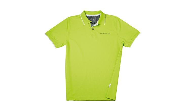 purchase porsche design driver 39 s selection new men 39 s golf polo shirt acid green motorcycle in. Black Bedroom Furniture Sets. Home Design Ideas