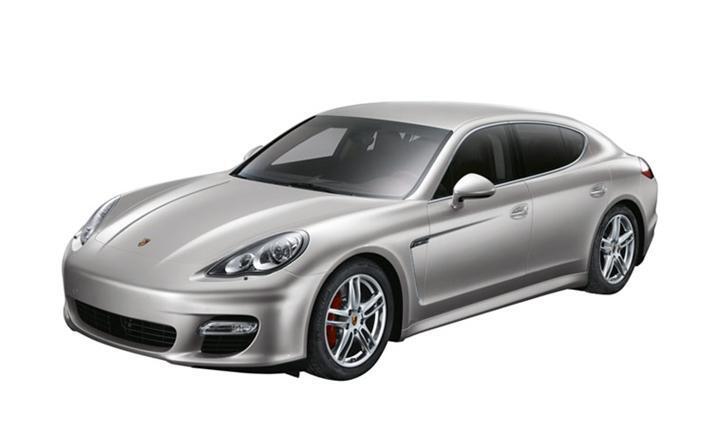 Porsche Panamera Turbo Model Car 1 43 Silver