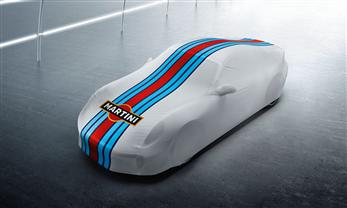 "Indoor-Car-Cover ""Martini Racing Design"""