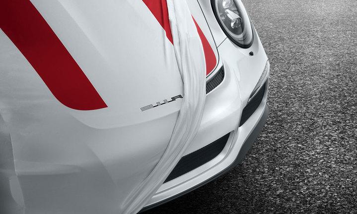 Housse de protection voiture pour l int rieur design 911 for Housse voiture porsche
