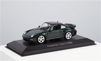 Porsche 911 Turbo S, brewster, 1:43