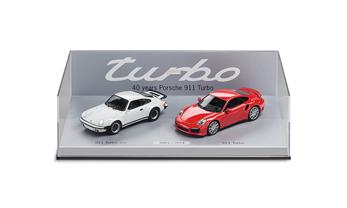 40 Years of 911 Turbo model car set.