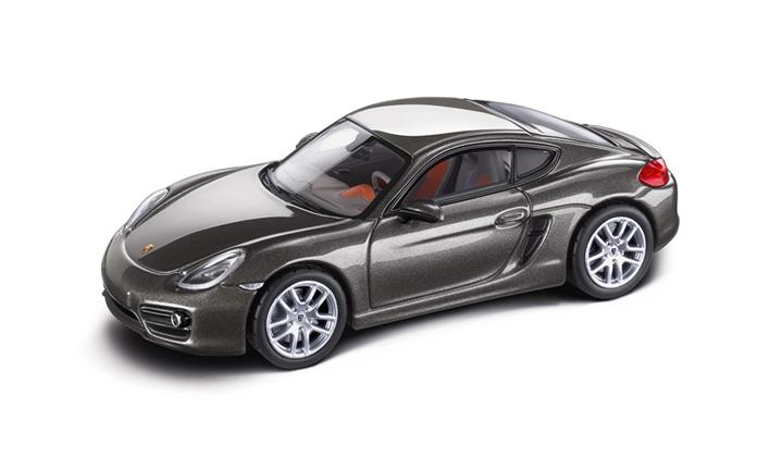Cayman (981), agate grey metallic/agate grey/amber orange, 1:43