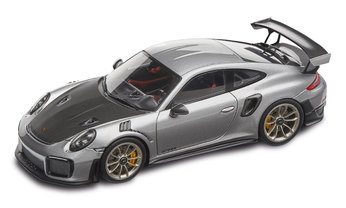 911 GT2 RS, silver metallic/black, 1:43 - Limited Edition
