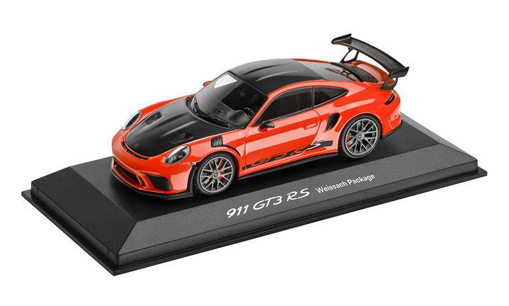 1:43 Model Car | 911 GT3 RS in Lava Orange