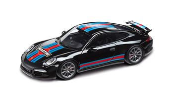911 Carrera S Aerokit Cup MARTINI RACING, nero 1:43