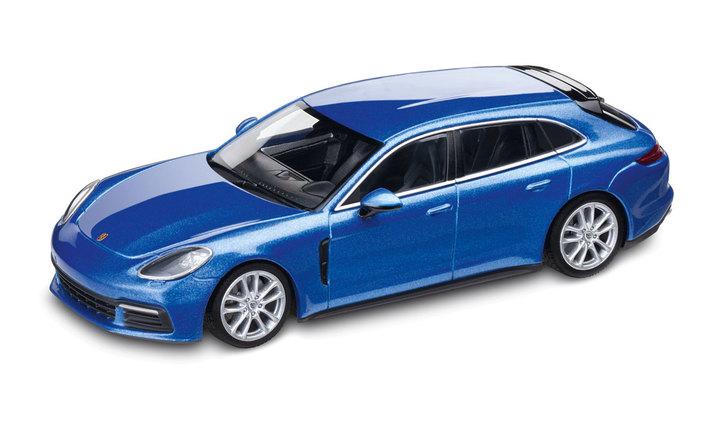 1:43 Model Car | Panamera 4S Sport Turismo Diesel in Sapphire Blue Metallic