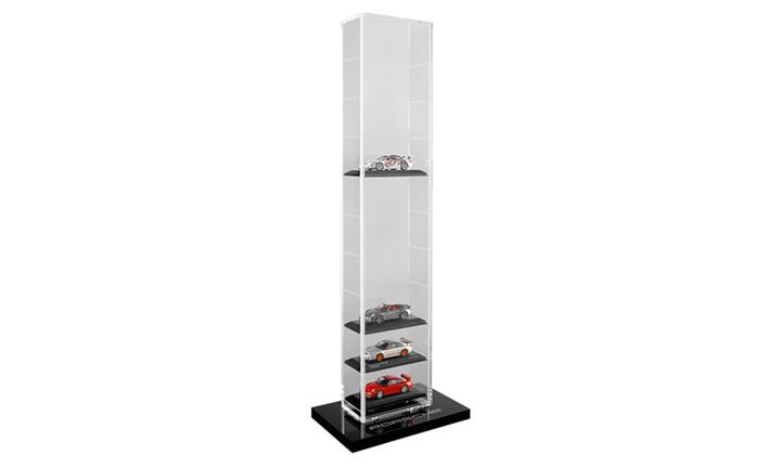 Porsche Model Car Display Tower