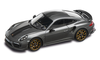 911 Turbo S Exclusive Series – Limited Edition; achatgraumetallic; 1:43