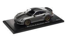 911 Turbo S Exclusive Series – Limited Edition; achatgraumetallic; 1:18