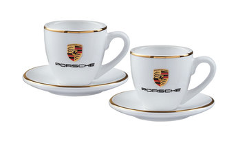 Crest Espresso Cups Set of 2