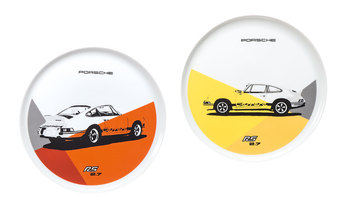 RS 2.7 Collection, Plates, Set of 2 No. 1, Limited Edition, yellow/orange