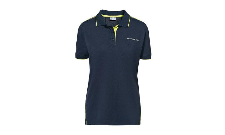 Women`s polo shirt, dark blue – Sport