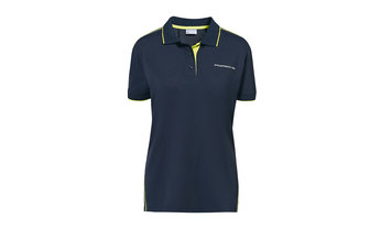 Ladies' Sport Polo Shirt in Navy Blue
