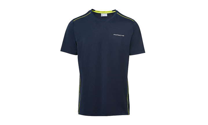 Men's Sport T Shirt in Navy Blue