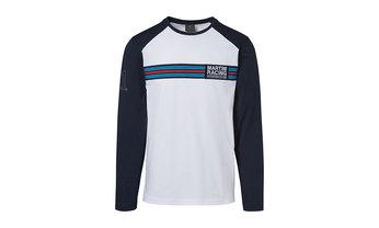 Martini Racing Men's Long Sleeved T Shirt in White