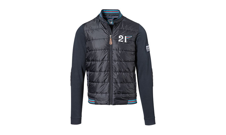 martini racing collection sweat mix jacket men dark. Black Bedroom Furniture Sets. Home Design Ideas
