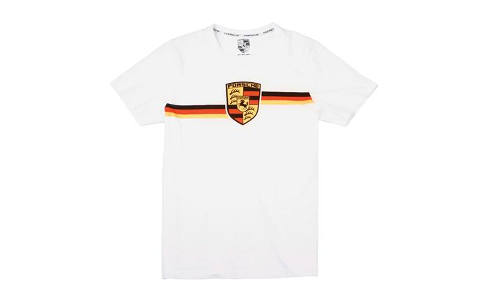 Collectible Tin Unisex T Shirt | Porsche Crest