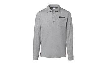 Men's long-sleeve polo shirt – Classic
