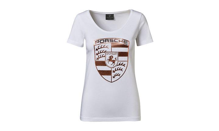 レディース クレスト Tシャツ