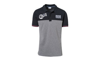 Martini Racing Collection, Polo-Shirt, Men, dark blue grey melange