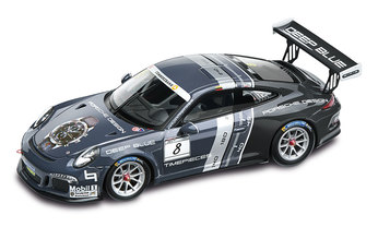 911 GT3 Cup Porsche Design, negro/multicolor, 1:43, Limited Edition