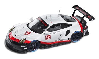 911 RSR 2017, black/white/red, 1:43, Limited Edition