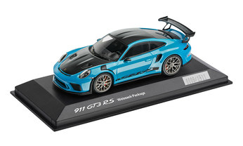 911 GT3 RS mit Weissach-Paket, 1:43, miamiblau, Limited Edition