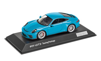911 GT3 Touring Package, Miami Blau, 1:43, Limited Edition