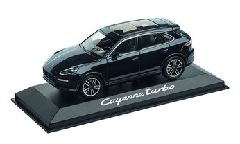 Cayenne Turbo, moonlightbluemetallic, 1:43