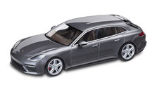 Panamera Sport Turismo Turbo, DieCast, agate grey metallic/truffle brown, 1:43