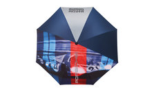 MARTINI RACING Collection, Umbrella XL, blue/red/turquoisee