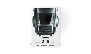 Calendario esmaltado Porsche