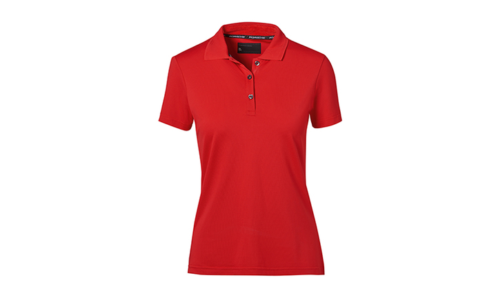 Textiles, Polo-Shirt, Women, red M