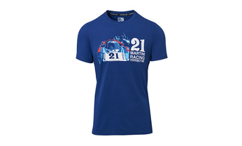MARTINI RACING Collection, Collector's Shirt No. 10, Unisex, blue/red/white, M