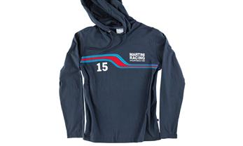 Men's hooded T-shirt – MARTINI RACING