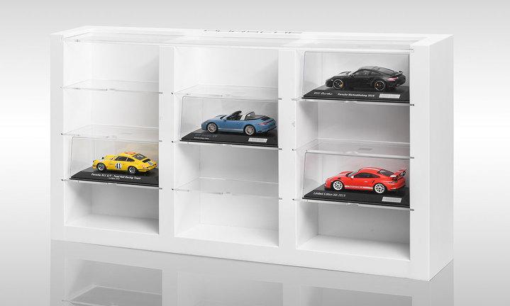 Porsche Modellautovitrine Exclusive Manufaktur Modellfahrzeuge