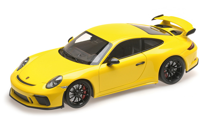 Porsche 911 GT3 Exclusive, racing yellow; 1:18, Limited Edition