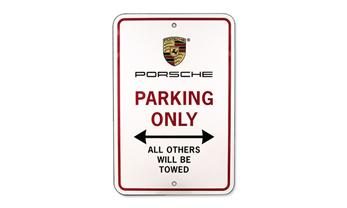 Porsche Parking Only Sign