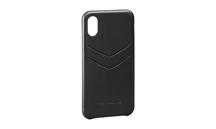 Leather snap-on case for iPhone® XS Max