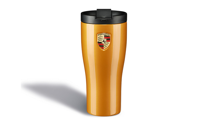 Thermo Mug, golden yellow
