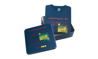 #Porsche Collection, Collector's T-Shirt No. 14, Unisex, petrol