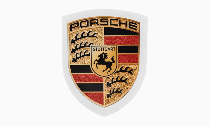 Porsche Crest Sticker