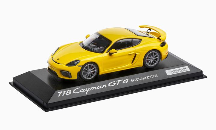 718 Cayman GT4, Calendar Edition, 1:43