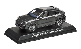 1:43 Model Car | Cayenne Turbo Coupé Metallic Grey