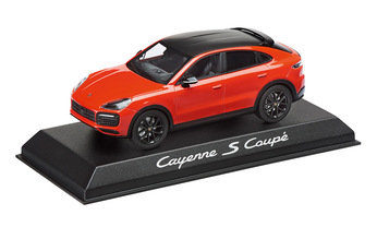 1:43 Model Car | Cayenne Coupe S Orange
