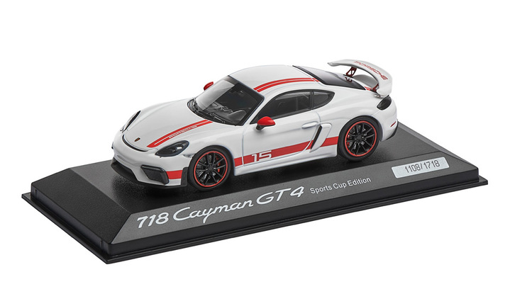 Limited Edition 1:43 Model Car   Cayman GT4 Exclusive
