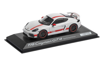 Limited Edition 1:43 Model Car | Cayman GT4 Exclusive