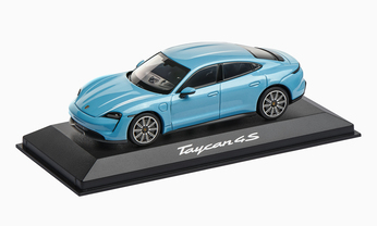 1:43 Model Car | Taycan 4S in Blue